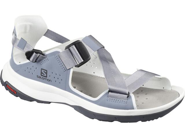 Salomon Tech Sandals Dame flint stone/heather/ebony